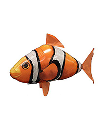 William Mark Remote Controlled Air Swimmer Flying Clownfish - Orange