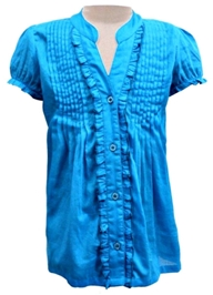 Campana - Dainty Pintucked Shirt