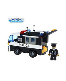 Saffire Police Car Vehicle - 103 Pieces