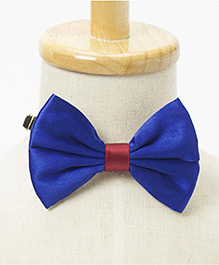 Brown Bows Butterfly Bow - Electric Blue