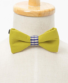 Brown Bows Formal Bow - Greenish Yellow