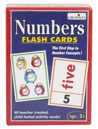 Creative's Numbers Flash Cards