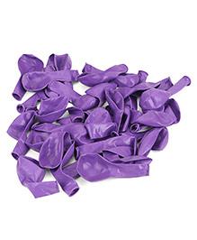 B Vishal Balloons Pack Of 35 - Purple
