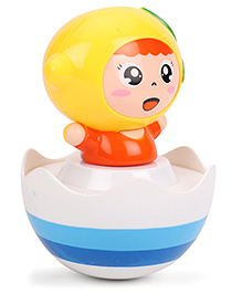 ToyFactory Roly Poly Toy - Yellow