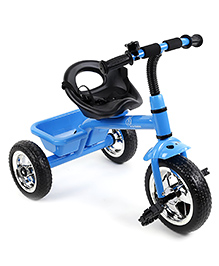 R For Rabbit Tiny Toes The Smart Plug And Play Tricycle - Blue Black