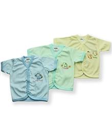Babyhug Striped Vests