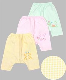 Babyhug Bear Printed Diaper Leggings