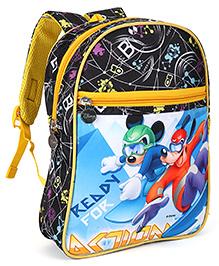Disney Mickey & Friends Nursery School Bag Black - 13 inch