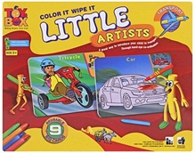 Toysbox -LITTLE ARTISTS - TRANSPORT