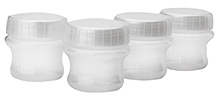 Nuby Natural Touch Store & Feed Breastmilk Storage Container