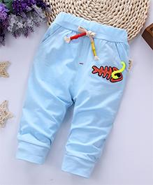Pre Order - Awabox Fish Print Pajama - Blue