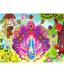 Tipy Tipy Tap Mosaic Peel And Stick Puzzle - Multicolour