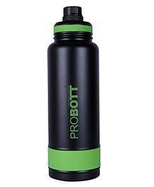 Probott Insulated Sports Bottle Black Green PB 1200-01 - 1000 Ml