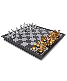 Silver Magnetic Chess - Gold Silver