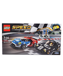 Lego Speed Champions 2016 Ford GT & 1966 Ford GT40 - Black Blue