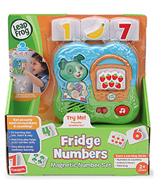 Leap Frog Fridge Numbers Magnetic Set - Multicolor