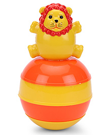 Ratnas Baby Touch Roly Poly Lion - Yellow Orange