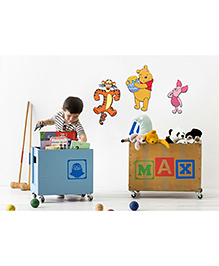Decofun Winnie The Pooh & Friends Wall Sticker - Multi Color