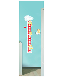 Home Decor Line Bear Brothers Wall Sticker - Red