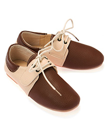 Little Hip Boutique Shoes With Velcro - Brown