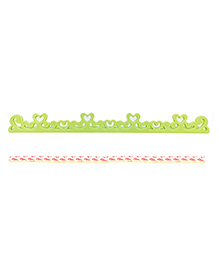 Safe-O-Kid Heart Shape Designer Edge Guard Green - Pack Of 8