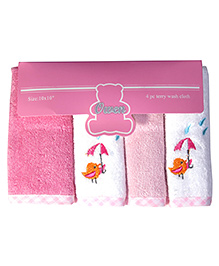 Owen - 4 Piece Terry Wash Cloth