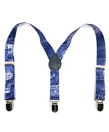 Kidofash Denim Design Suspenders - Blue