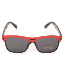 Babyhug Kids Sunglasses - Black & Red