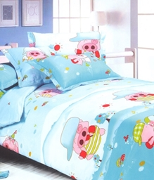 Valtellina 1 Single Bedsheet & 1 Pillow Cover - JCD-3