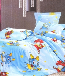 Valtellina 1 Single Bedsheet & 1 Pillow Cover - JCD-4