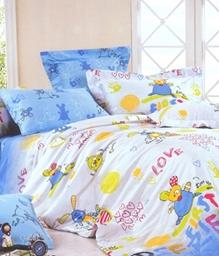 Valtellina 1 Single Bedsheet & 1 Pillow Cover - JCD-5