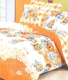 Valtellina 1 Single Bedsheet With 1 Pillow Cover - JCD-8