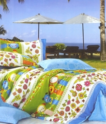 Valtellina 1 Single Bedsheet & 1 Pillow Cover - JCD-10