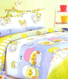 Valtellina 1 Single Bedsheet & 1 Pillow Cover - JCD-11