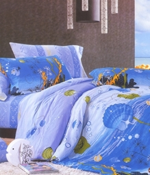 Valtellina 1 Single Bedsheet With 1 Pillow Cover - JCD-15