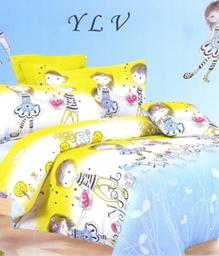 Valtellina 1 Single Bedsheet & 1 Pillow Cover JCD-19_S