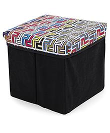 Ratnas Stool Cum Utility Box - Multicolor