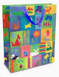 Mima Art - Animal Alphabet Print Gift Bags