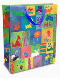 Mima Art - Animal Alphabet Gift Bags