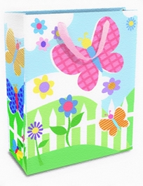 Mima Art - Butterfly Gift Bags Large