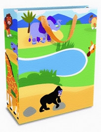 Mima Art - Safari Adventures Gift Bags