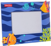 Fisher Price - Photo Frame With Orange color Fish Print