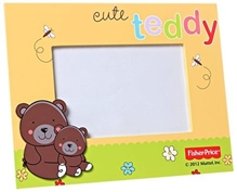 Fisher Price - Photo Frame With Teddy Print