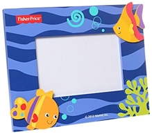 Fisher Price Wooden Photo Frame - Fish
