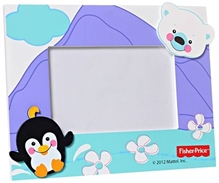 Fisher Price Wooden Photo Frame - Penguin