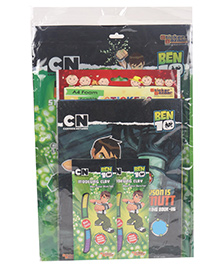 Ben 10 Stationery Gift Set Combo - Green - 1443966