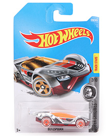 Hot Wheels Super Chromes Die Cast Toy Car - Red Orange