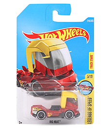 Hot Wheels Legends Of Speed Die Cast Toy Car - Red