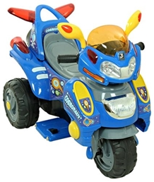 Fab N Funky Trendy Battery Operated Bike Blue