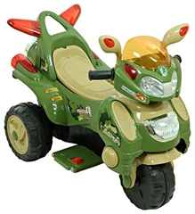 Fab N Funky Trendy Battery Operated Bike Green